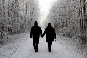 couples winter wonderland Accidental Tourist Flickr