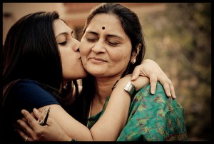 Swathi and Mom by Prati Photography.