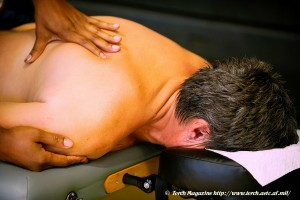 Massage Therapy For A USAF Vet TORCH MAGAZINE