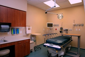 Emergency Room. Credit: Scoot & White Health Care.