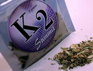 K2 Drug Packet.