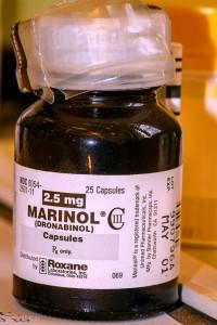 Marinol Bottle by UsualRedAnt.