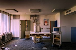 Abandoned Hospital by Gentleman of Decay