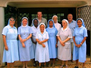 OnCall team Nurses of the Holy Trinity Photo taken in Togo, West Africa, by Julius Cruickshank