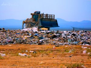 Refuse at Landfill
