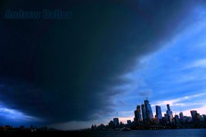 """Storm Approaching NYC"" image credit: Andrew Dallos."