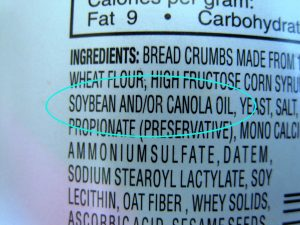 Food Label With AND/OR Logic.
