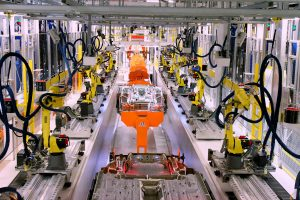 Car Assembly Line Robot.