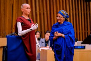 Sophia Robot Speaks At The United Nations.