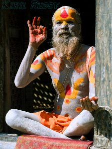 """Sadhu in Nepal."" Image Credit: Kiril Rusev"